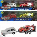 HTI Group Teamsterz Fém Autó Utánfutóval
