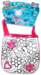 Cife Color Me Mine Flower feliratos virágos flitteres kis táska