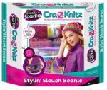 CRA-Z-ART Cra-Z-Knitz trendi csajszi pöndörödő sapka készítő (17436)