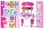 Mega creative Bucatarie cu muzica si lumini roz Mega Creative 324003 Bucatarie copii