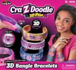 Cra-z-doodle 3D Trendi csajszi karkötő készítő, többféle készlet (CMH-14594)