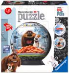 Ravensburger A kis kedvencek titkos élete - 3D gömb puzzle 108 db-os (12216)