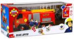 Simba Sam a tűzoltó járművek - Jupiter tűzoltóautó két figurával