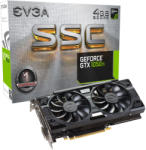 EVGA GeForce GTX 1050 Ti SSC GAMING ACX 3.0 4GB GDDR5 128bit PCIe (04G-P4-6255-KR) Видео карти