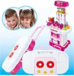 Toys Bucatarie Completa Troller 3 IN 1 ROZ Bucatarie copii