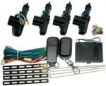 Kemot Sistem Inchidere Centralizata Cu 4 Actuatoare Si 2 Telecomenzi (urz0221)