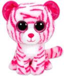 TY Inc Beanie Boos - Asia, a rózsaszín-fehér tigris 24cm (TY 36823)