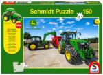 Schmidt Spiele Rakodó traktorok puzzle 150 db-os (COMP-56045)