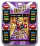 Sony Buzz! The Mega Quiz [Buzzers Bundle] (PS2) Játékprogram