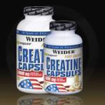 Weider Creatine Capsules - 200 caps
