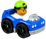 Fisher-Price Little People autópajtások - kék autó