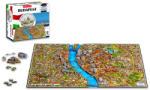 4D Cityscape 4D City Puzzle - Budapest (GK2008)