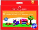 Faber-Castell Színes gyurmaszett 12db-os