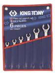KING TONY Fékcsőkulcs készlet 6db-os 8-22mm (1306mr)