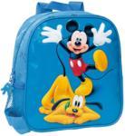 DISNEY Ghiozdan 25 cm Mickey si Pluto
