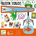 DJECO Quick-couic (DJ08467) Joc de societate