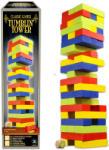 Merchant Ambassador Klasszikus társasjátékok gyűjtemény - színes építkező torony fából