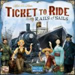 Days of Wonder Ticket to Ride - Rails and Sails társasjáték - angol nyelvű
