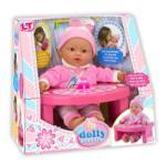 LOKO Toys My Dolly Sucette - Baba etető asztallal