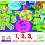D'Jeco Djeco - Eduludo - 1, 2, 3 számolós társasjáték