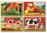 Melissa & Doug Puzzle - farm állatok