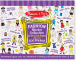 Melissa & Doug Colectia de abtibilduri Fashion (MD4190)