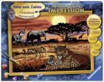 Ravensburger Pictura Pe Numere Safari African (28819)