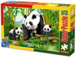 D-Toys Super Puzzle - Panda 35 db-os (D-TOYS-60198-AN-04)