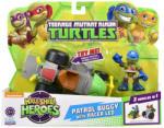 Playmates Toys Tini Nindzsa Teknőcök: Járőr Buggy versenyző Leonardoval akciófigura - Playmates