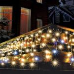 Home Meleg- és hidegfehér LED-fényfüggöny 600db 10m (KAF 600L)