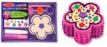 Melissa & Doug Decoreaza cutiuta floricica pentru bijuterii (MD3333)