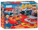 Faro Toys Super Garage - Négyszintes parkolóház autókkal - Agip - Ma Fra