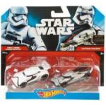 Mattel Hot Wheels Star Wars Stormtrooper şi Phasma CGX02-CKL35