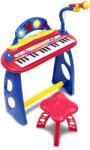 Bontempi Elektromos gyermekzongora székkel és mikrofonnal (MK 3440)