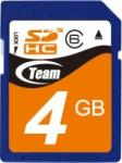 Team Group SDHC 4GB Class 6 TG004G0SD26A