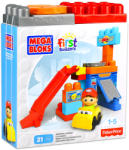 Mega Bloks Forgó garázs építőkockák - 21db
