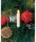 Konstsmide Vezeték nélküli karácsonyfa izzó LED-es melegfehér fényű 1, 5V-os elemes 13cm Konstsmide
