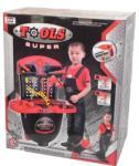Alexis Trusa de scule Super Tools 00828 Set bricolaj copii
