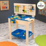 Kidkraft Banc de lucru Deluxe cu accesorii 63329 Set bricolaj copii