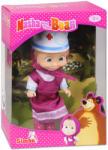 Simba Маша с розова рокля и лекарска шапка
