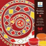 DJECO Nisip colorat Mandala continente (08635)