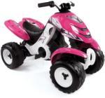 Smoby Négykerekű gyerekeknek X Power Girl Smoby elektromos rózsaszín