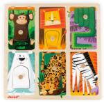 Janod Tapintós puzzle - Állatkerti állatok (J07081)