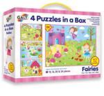 Galt 4 képes puzzle készlet Tündérek 72 db