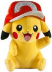 TOMY Pokémon Pikachu plüss sapkával - 26cm (MH-T18981)