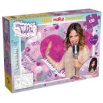 Lisciani puzzle, SuperMaxi, 2 oldalú, Violetta, Zongora, 15 darab