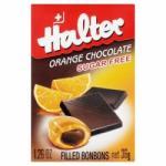 Halter Cukormentes cukorka csokoládé töltelékkel 36g