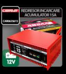 Absaar Redresor incarcare acumulator Absaar 15A - 12V - CRD-CAR0635615 (CRD-CAR0635615)