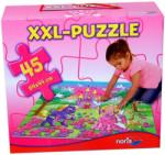 """Noris Óriás puzzle 45 db-os, NORIS """"hercegnős"""" RJS026"""