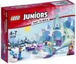 LEGO Juniors - Jégvarázs - Anna és Elsa fagyott játszótere (10736)